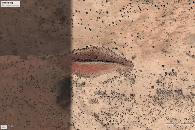 Những cảnh tượng bí ẩn vô tình lọt vào tầm ngắm của Google Earth - Ảnh 5.