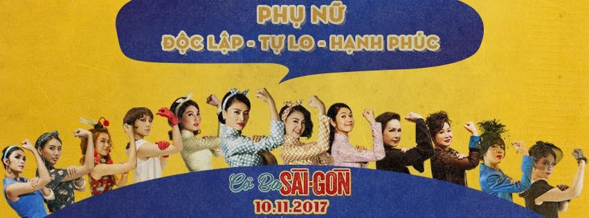 Nữ quyền là điều được đề cập rất nhiều trong Cô Ba Sài Gòn