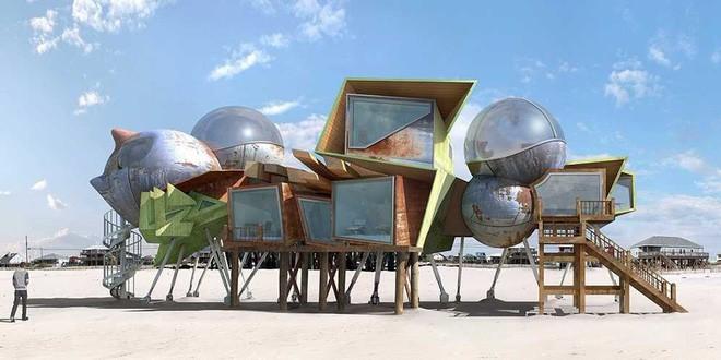 Lấy cảm hứng từ thảm họa thiên nhiên, vị kiến trúc sư này đã tạo ra những ngôi nhà ven biển có thiết kế vô cùng độc đáo - Ảnh 5.