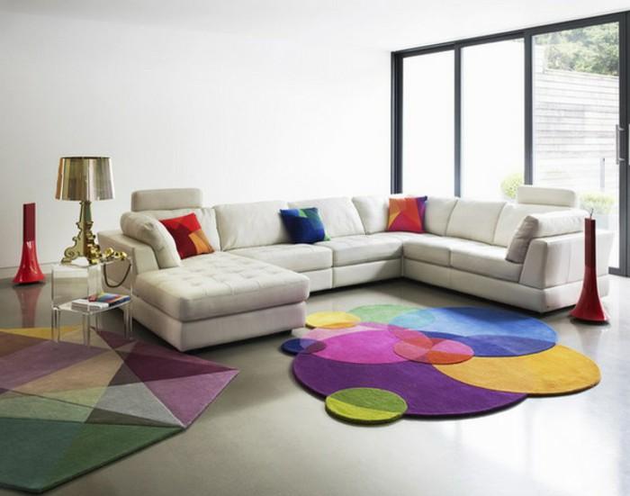 Gợi ý 14 mẫu thảm trải sàn rực rỡ giúp căn phòng biến thành cầu vồng đẹp mắt - Ảnh 9.