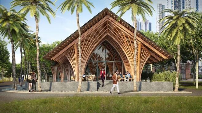 Nhà hàng tre của kiến trúc sư Việt đang xây dở đã lên tạp chí danh tiếng - Ảnh 5.