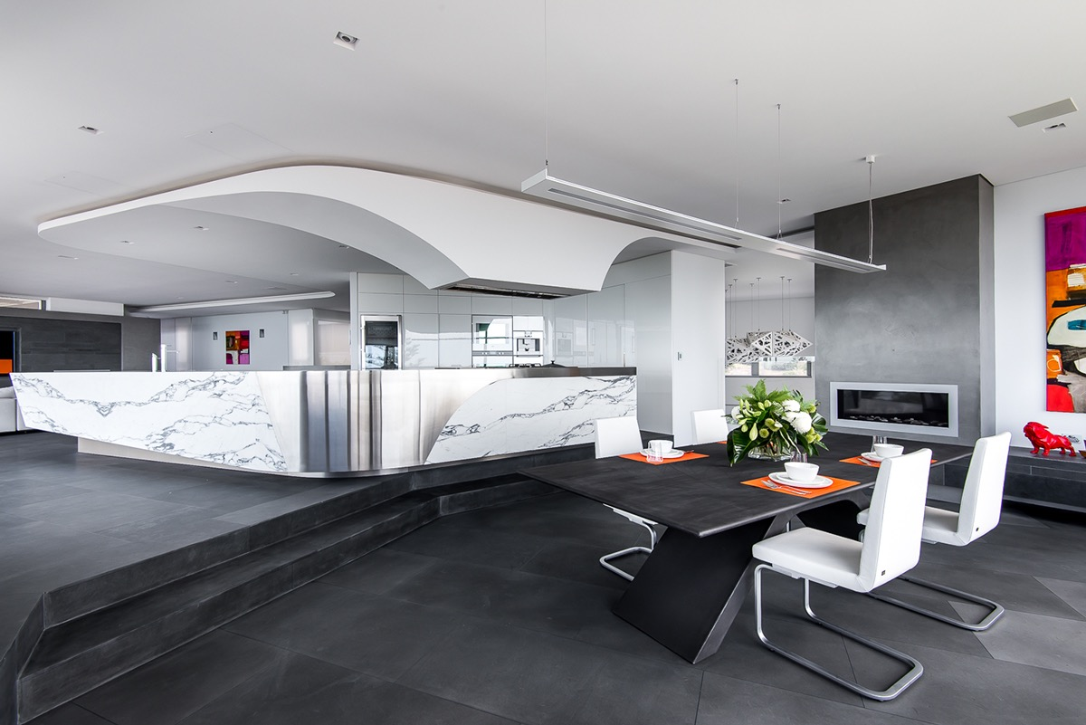 15 thiết kế phòng ăn tuyệt đẹp khiến bạn cả ngày chỉ muốn lăn vào bếp - Ảnh 11.
