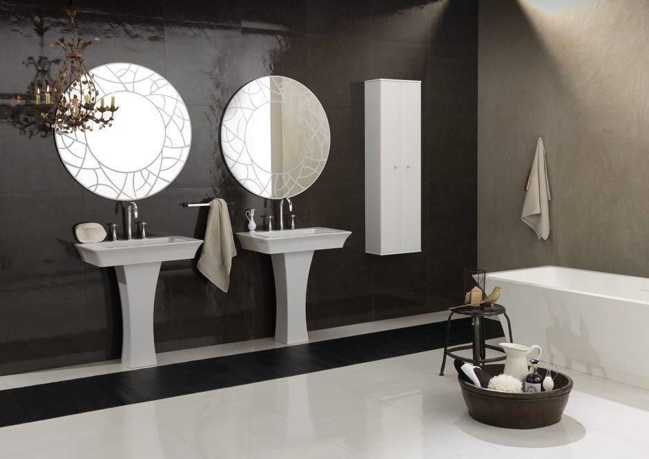 15 phòng tắm với phong cách tối giản mà vẫn cuốn hút - Ảnh 11.