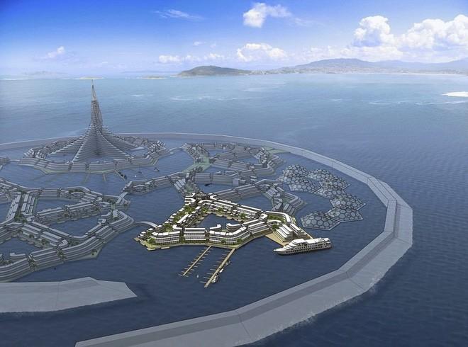 Bạn không hoa mắt đâu, đây là thành phố nổi đầu tiên trên thế giới giữa đại dương mênh mông - Ảnh 6.