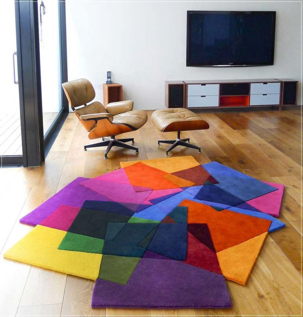 Gợi ý 14 mẫu thảm trải sàn rực rỡ giúp căn phòng biến thành cầu vồng đẹp mắt - Ảnh 11.