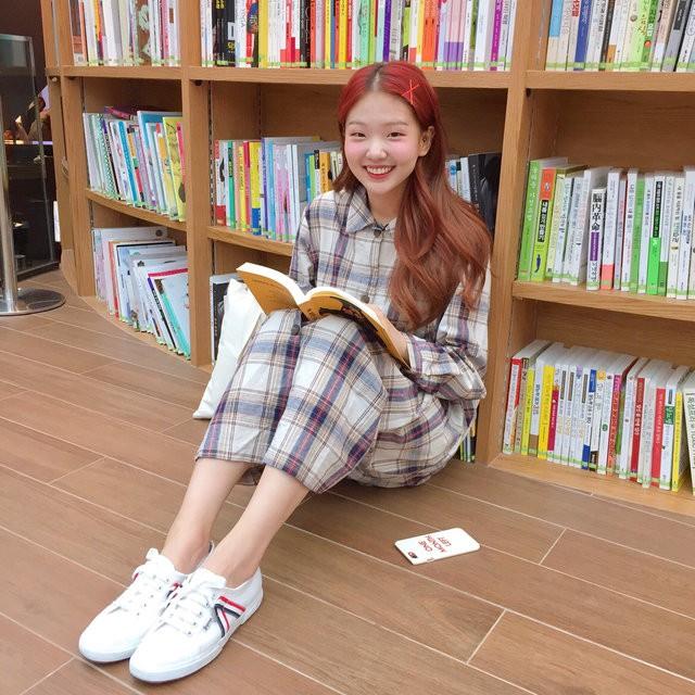 Cô bạn Hàn Quốc xinh xắn chứng minh mắt một mí vẫn thừa dễ thương! - Ảnh 8.