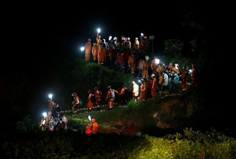 Những bức ảnh ấn tượng nhất năm 2017 được tờ Reuters bình chọn - Ảnh 55.