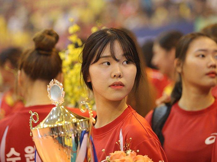 Ngắm vẻ đẹp chân dài xứ Hàn đoạt giải Hoa khôi VTV Cup - Ảnh 7.