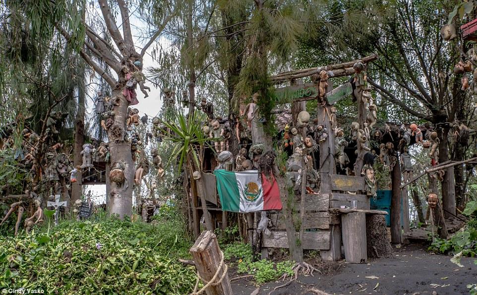 Cơn ác mộng Isla de las Munecas: Hòn đảo với hàng nghìn con búp bê kinh dị được treo lủng lẳng trên cây - Ảnh 7.