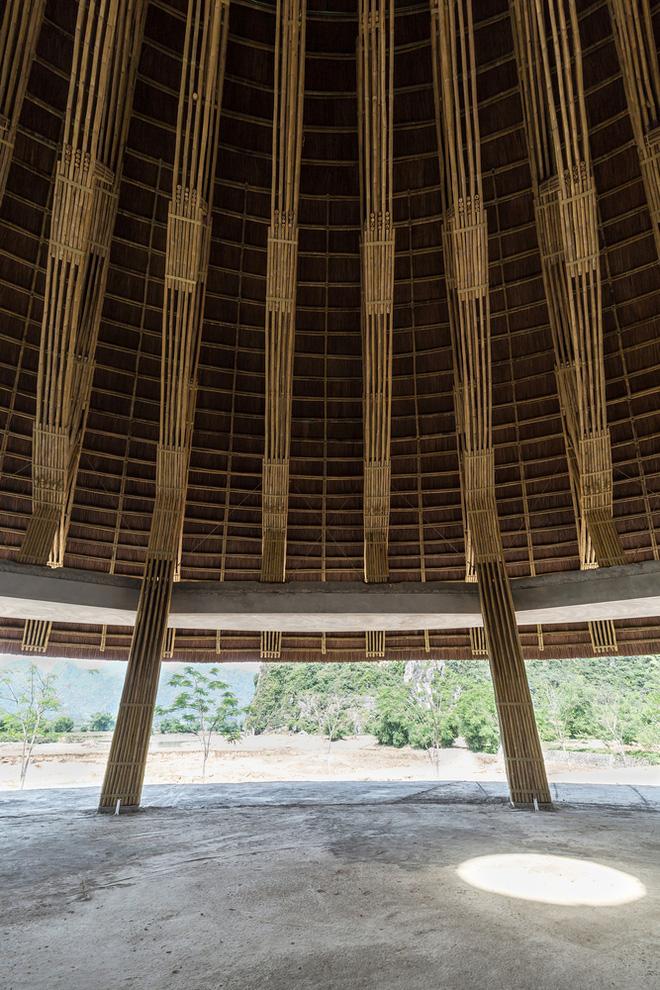 Nhà hàng hình nón làm từ 150.000 cây tre ở Kim Bôi khiến tạp chí kiến trúc Mỹ hết lời khen ngợi - Ảnh 7.