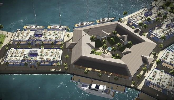 Bạn không hoa mắt đâu, đây là thành phố nổi đầu tiên trên thế giới giữa đại dương mênh mông - Ảnh 7.