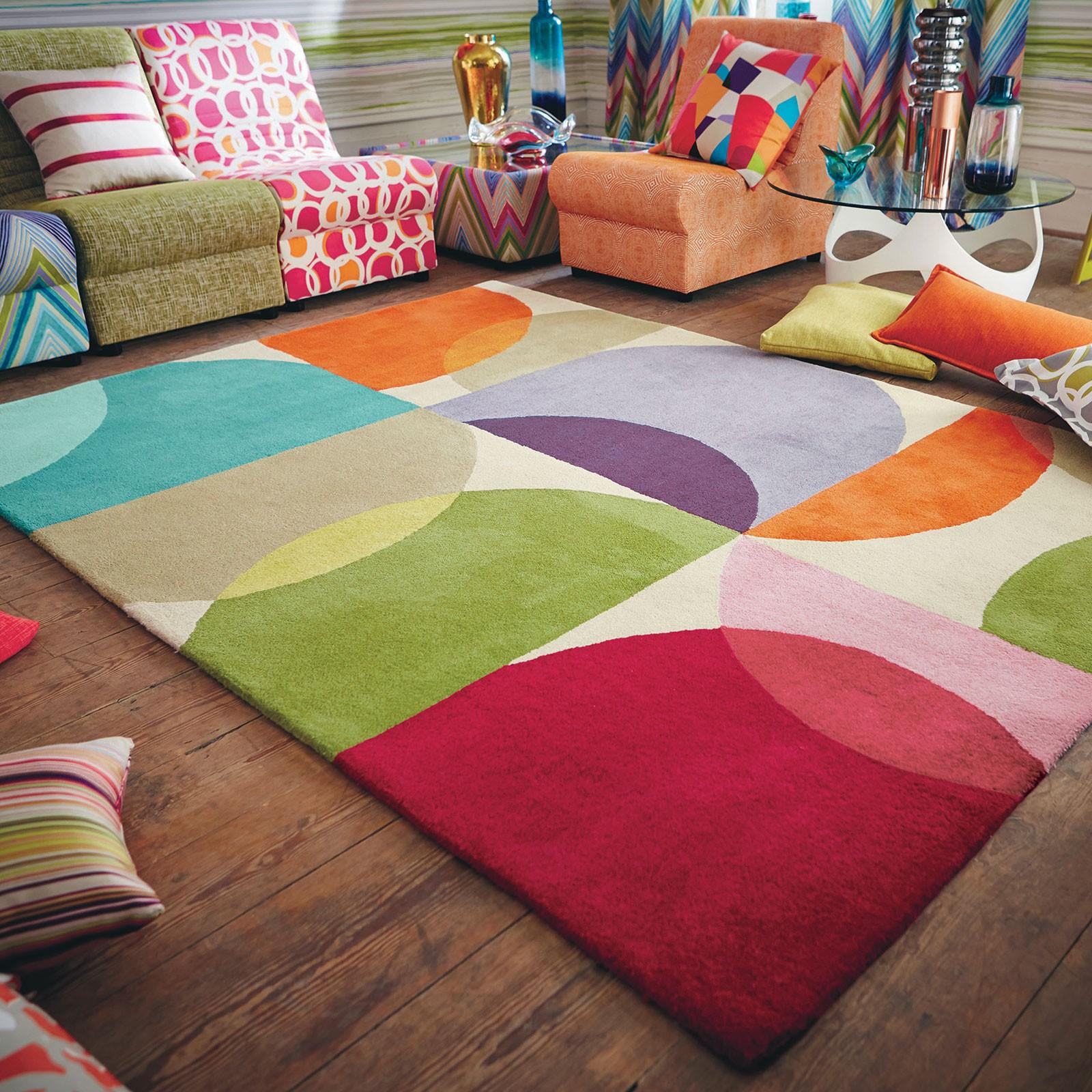 Gợi ý 14 mẫu thảm trải sàn rực rỡ giúp căn phòng biến thành cầu vồng đẹp mắt - Ảnh 13.