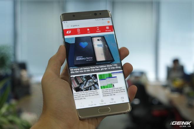 Mở hộp Galaxy Note Fan Edition (Note 7 FE) tại VN: Vẫn rất tốt, nhưng kém hấp dẫn với giá 16 triệu - Ảnh 8.