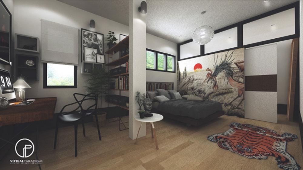 14 mẫu phòng ngủ rộng rãi dành cho người yêu kiến trúc - Ảnh 15.