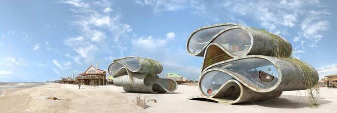 Lấy cảm hứng từ thảm họa thiên nhiên, vị kiến trúc sư này đã tạo ra những ngôi nhà ven biển có thiết kế vô cùng độc đáo - Ảnh 8.