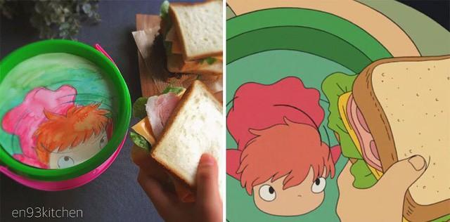 Bà nội trợ tài ba biến đồ ăn trong hoạt hình Ghibli ra đời thực - Ảnh 13.