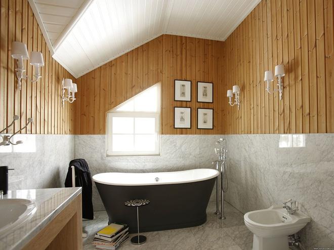 14 thiết kế phòng tắm gác mái vừa nhìn qua đã thích ngay - Ảnh 17.