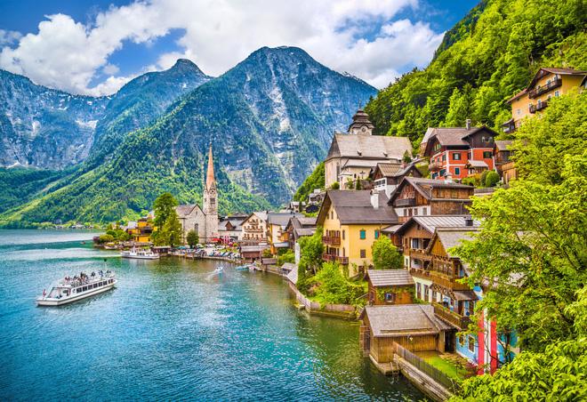 Ngất ngây đắm chìm trong những ngôi làng phủ đầy hoa tươi khắp thế giới - Ảnh 9.