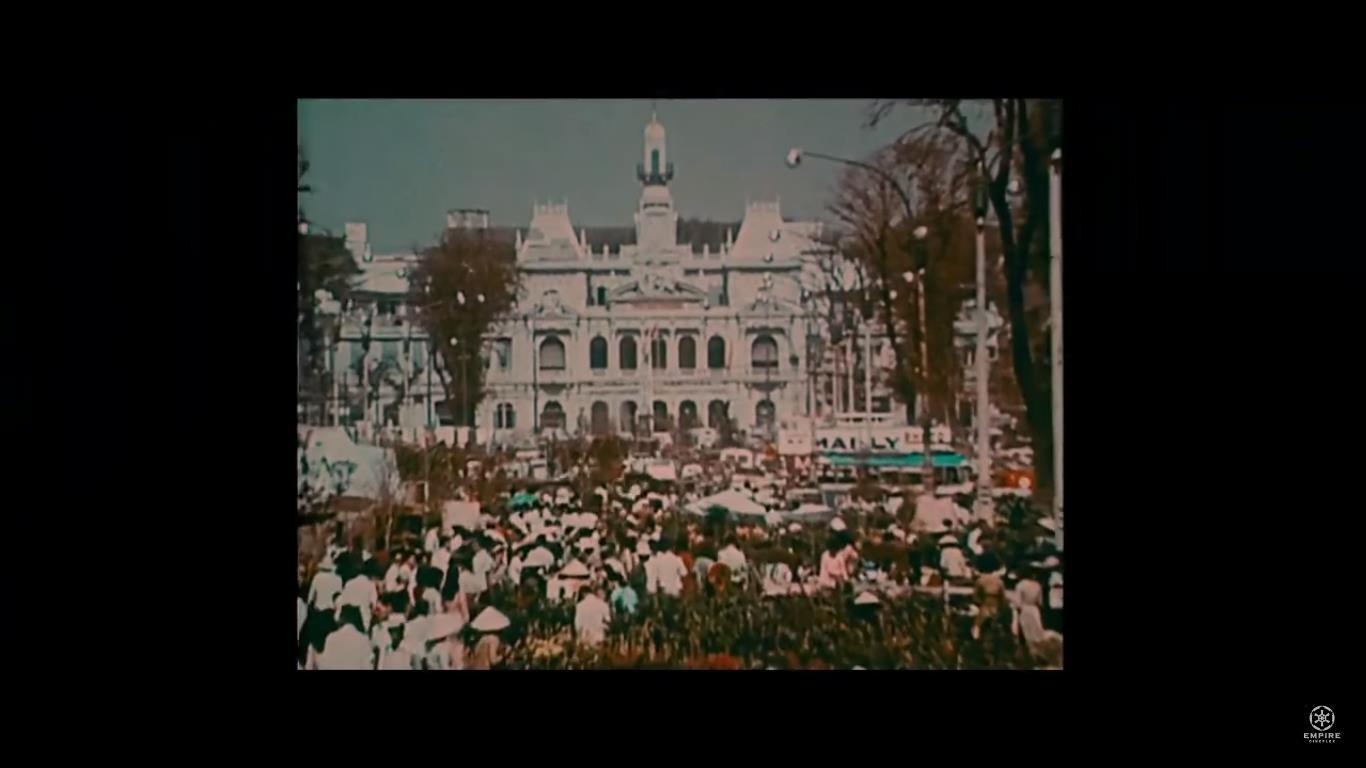 Hình ảnh Sài Gòn xưa ồn ào, náo nhiệt xuất hiện trong teaser của Cô Ba Sài Gòn