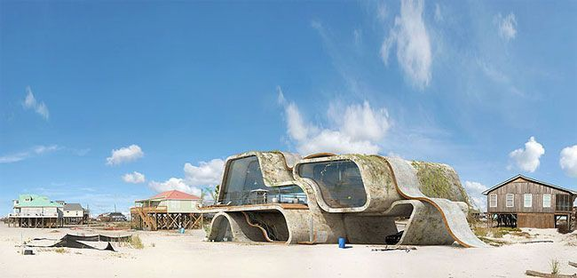 Lấy cảm hứng từ thảm họa thiên nhiên, vị kiến trúc sư này đã tạo ra những ngôi nhà ven biển có thiết kế vô cùng độc đáo - Ảnh 9.