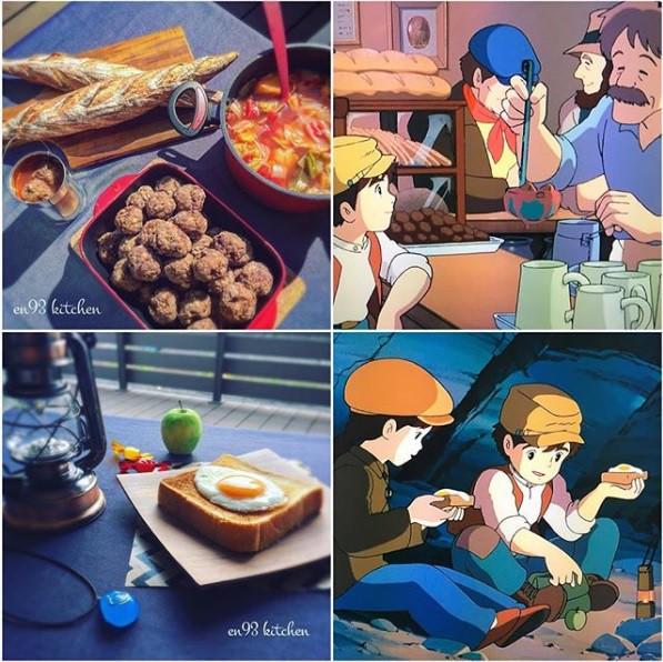 Bà nội trợ tài ba biến đồ ăn trong hoạt hình Ghibli ra đời thực - Ảnh 15.