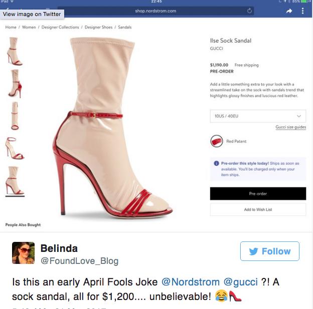 Đến Gucci cũng nhập cuộc xu hướng giày dép độc với đôi sandals kèm tất nhựa khiến dân tình hốt hoảng - Ảnh 10.