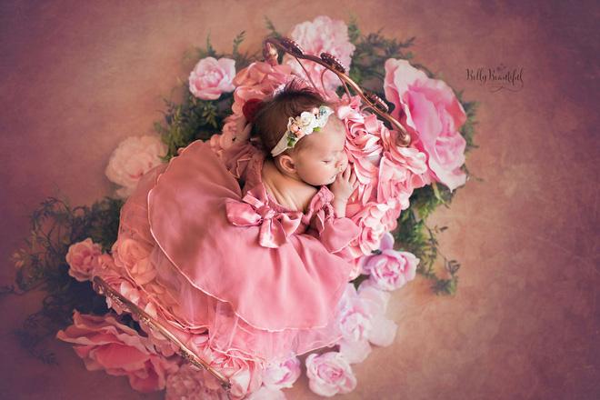 Bộ ảnh đẹp lung linh của các bé sơ sinh vào vai công chúa Disney - Ảnh 19.