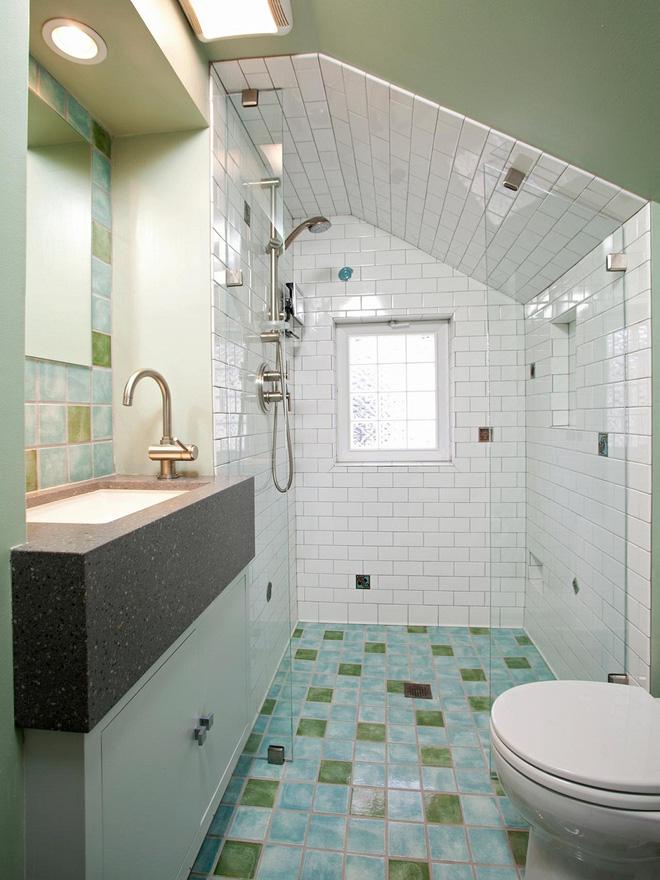 14 thiết kế phòng tắm gác mái vừa nhìn qua đã thích ngay - Ảnh 19.