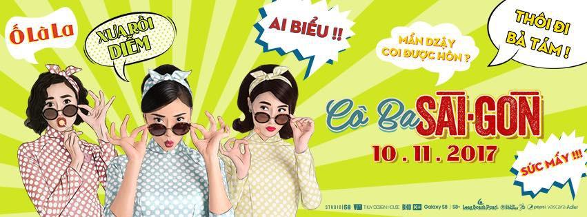 Những câu cửa miệng quen thuộc của người Sài Gòn xưa xuất hiện trên banner của phim