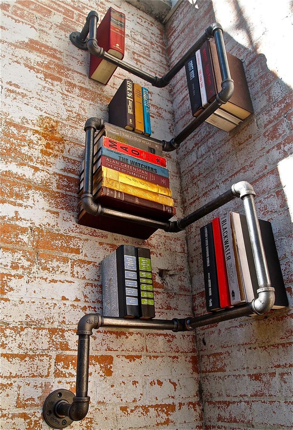 16 mẫu giá sách đầy sáng tạo dành cho người thích đọc sách - Ảnh 19.