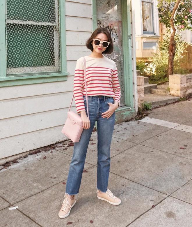 """Quên quần jeans trơn đi, còn đến 5 kiểu quần vừa đẹp vừa chất này mà các nàng nên """"bỏ túi"""" ngay - Ảnh 10."""