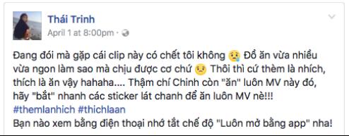 """Hòa Minzy, Miu Lê, Duy Khánh… không thể cưỡng lại sức hút của MV """"ăn được"""" - Ảnh 7."""