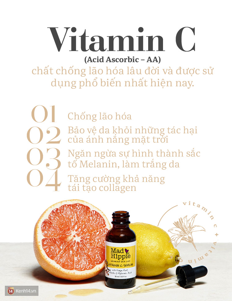Serum Vitamin C - thần dược giúp da vừa trắng sáng vừa trẻ hóa, hết thâm nám và nhiều điều bạn chưa biết - Ảnh 5.