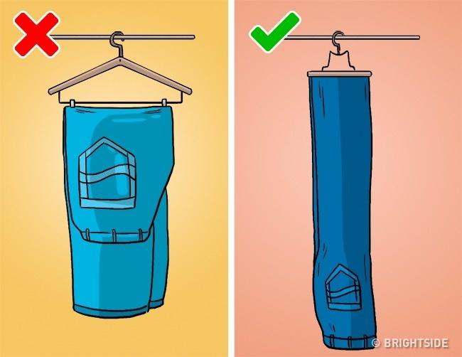 Những kiểu cất quần áo ai cũng làm nhưng hóa ra sai bét - Ảnh 5.