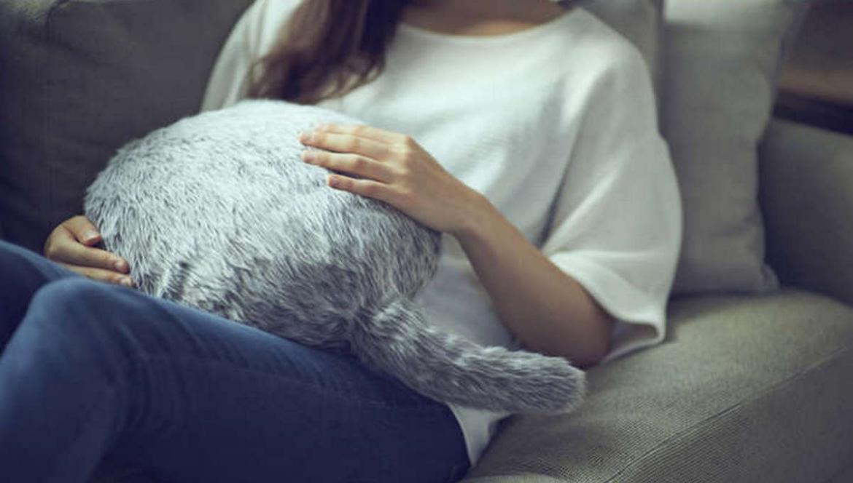 Gối ôm biết ngoe nguẩy đuôi giống như mèo - Ảnh 2.
