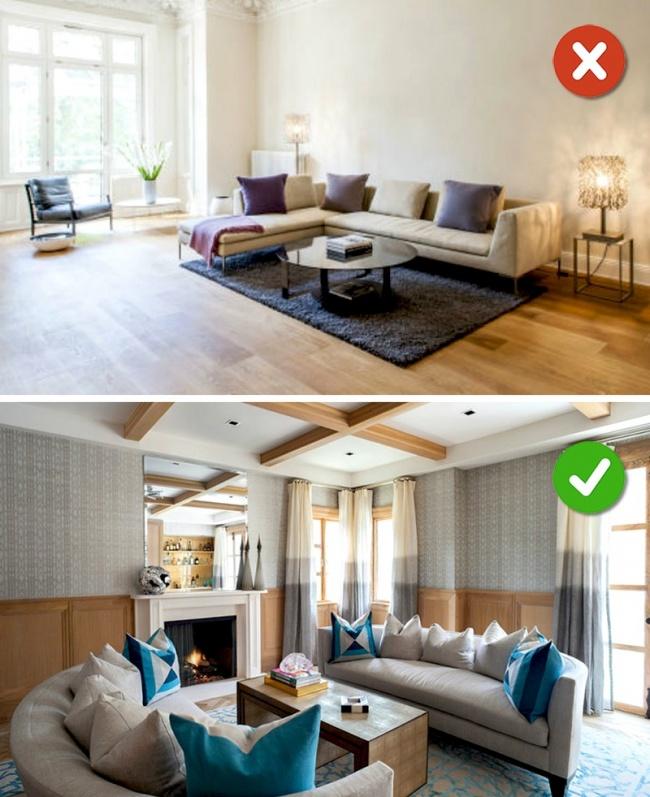 15 lỗi bố trí nội thất phòng khách mà gia đình nào cũng thường mắc phải - Ảnh 21.
