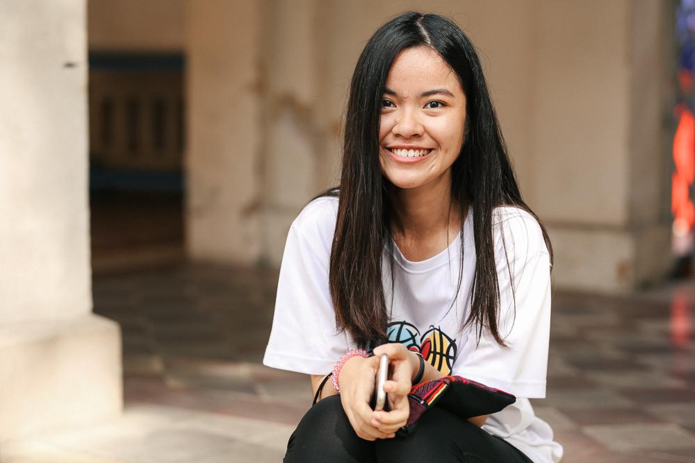 Nữ sinh lớp 12 trường chuyên Lê Hồng Phong rạng rỡ trong hội trại trưởng thành - Ảnh 2.