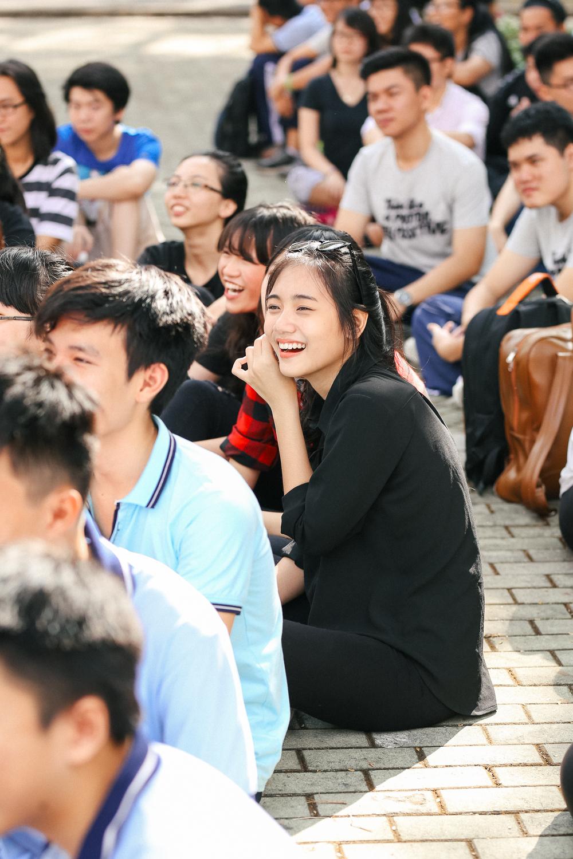 Nữ sinh lớp 12 trường chuyên Lê Hồng Phong rạng rỡ trong hội trại trưởng thành - Ảnh 6.