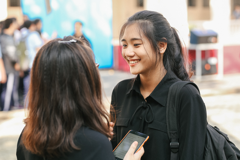 Nữ sinh lớp 12 trường chuyên Lê Hồng Phong rạng rỡ trong hội trại trưởng thành - Ảnh 5.