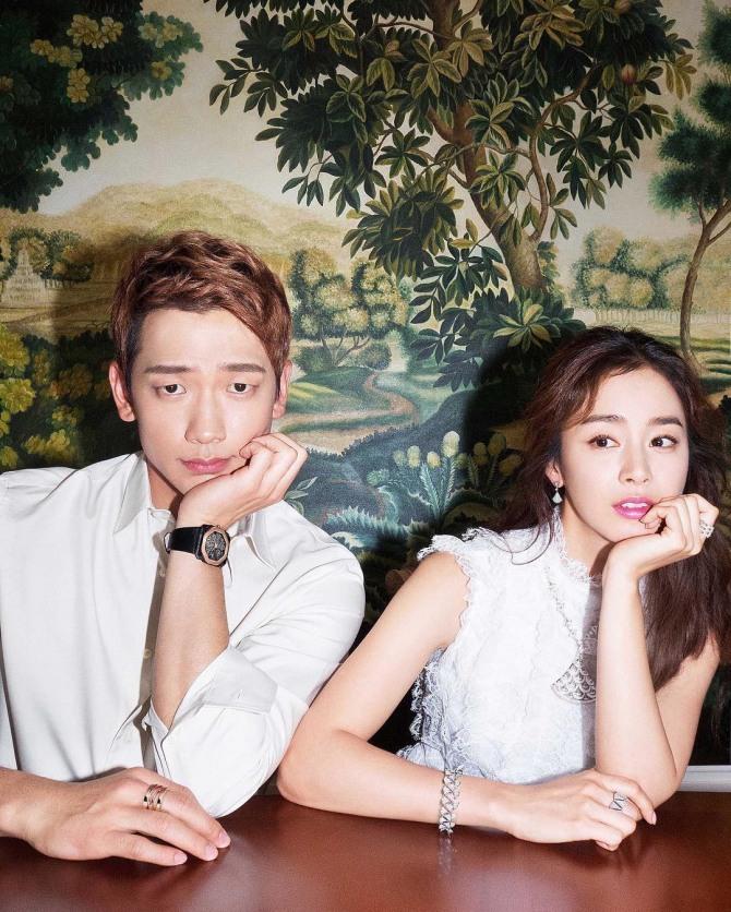 Lộ hình tạp chí hiếm hoi tại Ý của Bi Rain và Kim Tae Hee sau đám cưới - Ảnh 1.