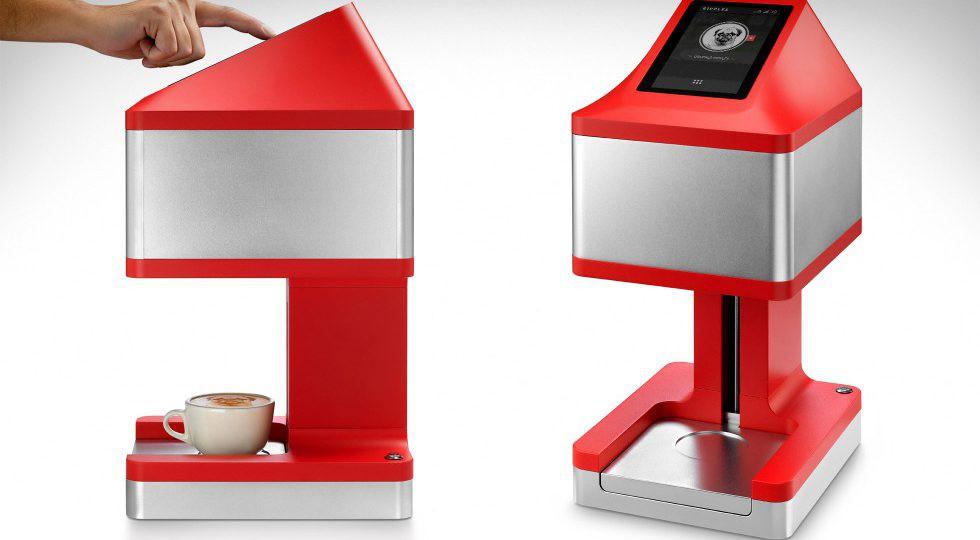 Ripple Maker - Cỗ máy in thần kỳ đưa mọi hình ảnh bạn yêu thích lên cốc cà phê nóng hổi - Ảnh 1.