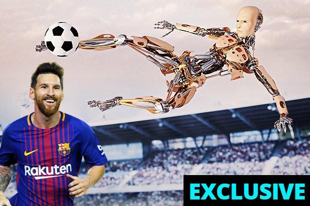 Robot sẽ đá bóng hay hơn Messi vào năm 2045 - Ảnh 1.