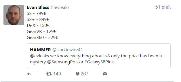 A đây rồi! Các lựa chọn màu sắc và giá thành của Galaxy S8 cuối cùng đã lộ diện - Ảnh 3.