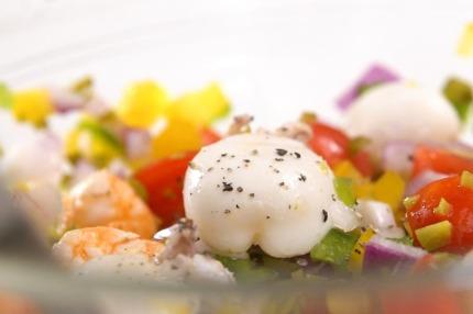 """Salad hải sản kiểu Tây Ban Nha - nhìn thì cầu kỳ nhưng làm """"nhanh như một cơn gió"""" - Ảnh 5."""