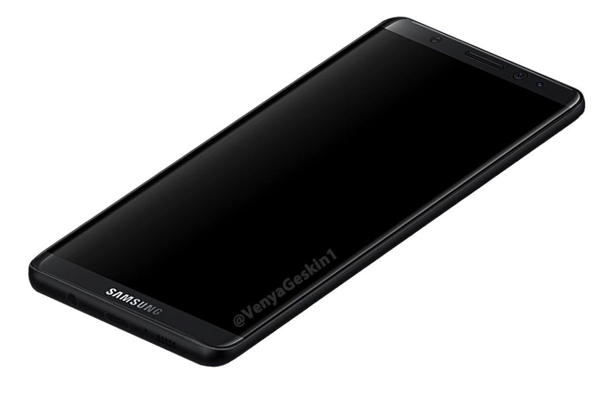 Galaxy S8 lộ diện với ngoại hình đẹp miễn chê, iPhone sẽ ế dài cổ cho xem - Ảnh 1.