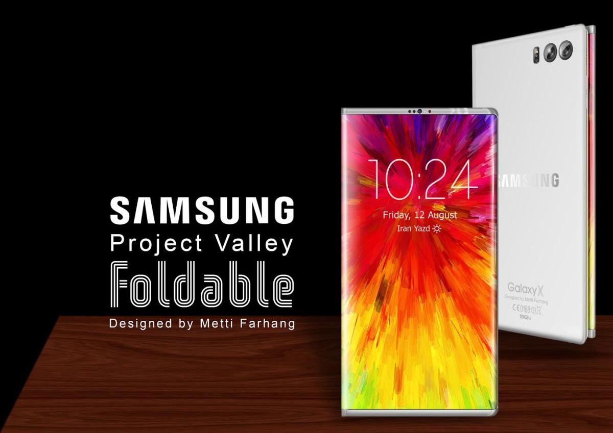 Cùng rửa mắt ngắm ý tưởng smartphone có màn hình bẻ gập đẹp đến mê mẩn - Ảnh 2.