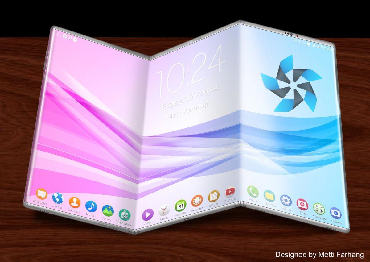 Cùng rửa mắt ngắm ý tưởng smartphone có màn hình bẻ gập đẹp đến mê mẩn - Ảnh 1.