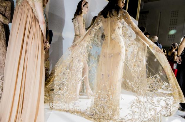 Tuần lễ Haute Couture: Nếu đời là một giấc mơ thì cứ mong mộng mị mãi đẹp thế! - Ảnh 4.