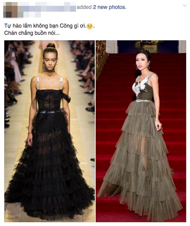 Diệu Nhi bất ngờ bị cư dân mạng tố mặc váy nhái Dior - Ảnh 1.