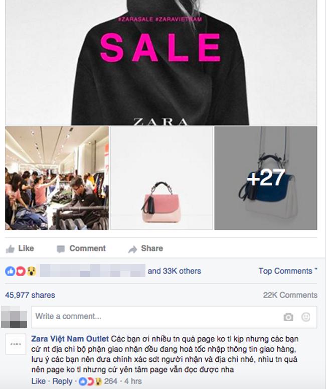 Thông tin về Zara Việt Nam Outlet, sale đồng giá 100.000 đồng hoàn toàn là lừa đảo! - Ảnh 3.